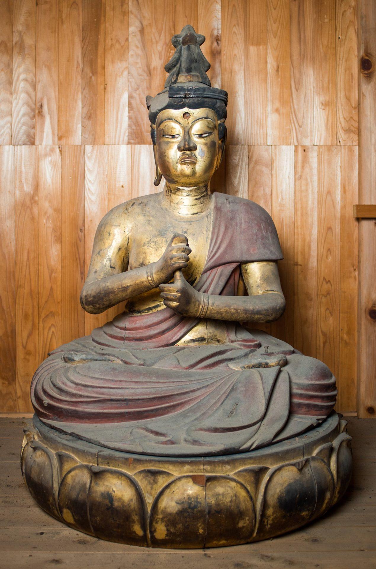 裾野光明寺の仏像